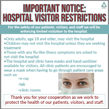 Hospital Visitor Restrictions mini web new