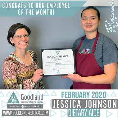 Employee of the Month- February 2020 web
