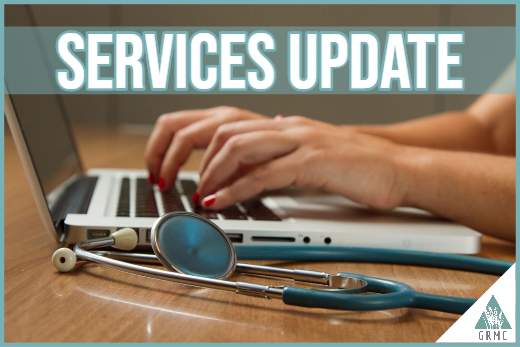 GRMC Services During COVID-19- Updated 4/14/2020