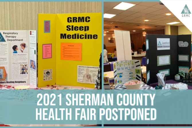 2021 Sherman County Health Fair Update