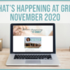 What's happening at GRMC?- November 2020 Issue