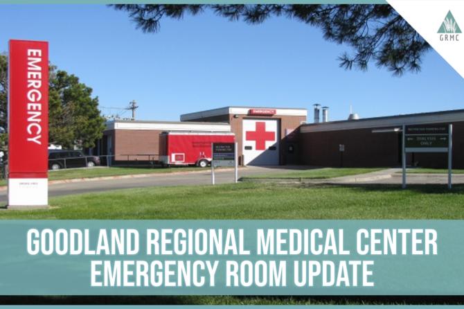 Goodland Regional Medical Center Emergency Room Relocation Update