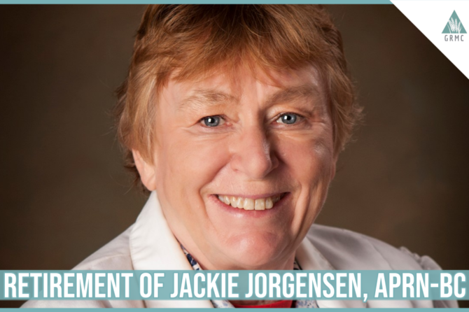 Retirement of Jackie Jorgensen, APRN-BC